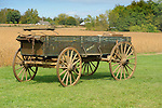 Heritage Days Festival. Union County. Old Millville wagon.