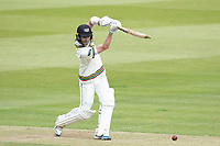 Ian Cockbain, Gloucestershire CCC drives into the covers during Middlesex CCC vs Gloucestershire CCC, LV Insurance County Championship Group 2 Cricket at Lord's Cricket Ground on 7th May 2021