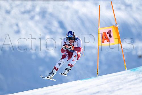 11th November 2020; Obergurgl, Austria;  Matthias Mayer of Austria during a free downhill training for the mens OeSV team in Obergurgl, Austria