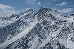 Flexenspitze from Stuben Ski Area, St Anton, Austria