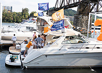 KNOXVILLE, TN - OCTOBER 5: Vol Navy prior to the Tennessee vs Georgia game during a game between University of Georgia Bulldogs and University of Tennessee Volunteers at Neyland Stadium on October 5, 2019 in Knoxville, Tennessee.