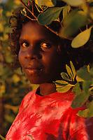 Camilla Ngallametta, Apalech clan group, Aurukun, Cape York Peninsula.