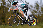 Ide Schelling (NED) Bora-Hansgrohe in action during Stage 2 of the 100th edition of the Volta Ciclista a Catalunya 2021, an 18.5km Individual Time Trial around Banyoles, Spain. 23rd March 2021.   <br /> Picture: Bora-Hansgrohe/Luis Angel Gomez/BettiniPhoto | Cyclefile<br /> <br /> All photos usage must carry mandatory copyright credit (© Cyclefile | Bora-Hansgrohe/Luis Angel Gomez/BettiniPhoto)