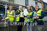 Ballybunion Tidy Town members standing near a building that need a lick of paint in Ballybunion as they hope to avail of the Streetscape Enhancement Scheme Funding which is available for replacing existing shopfronts or signage, and other enhancements to the exterior of commercial, residential, or vacant buildings. L to r: Eileen Brennan, Kathleen Collins, Jackie Pierce and Pat O'Connor.