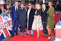David Walliams, Ant McPartlin, Simon Cowell, Amanda Holden, Declan Donelley and Alesha Dixon<br /> arrives for the Britain's Got Talent 2018 auditions, Palladium Theatre, London<br /> <br /> <br /> ©Ash Knotek  D3373  28/01/2018
