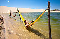 relax in lagoa Azul ,Nordeste, Cearà,  Brazil
