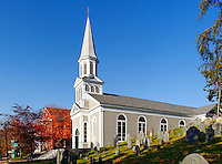 Saint Bernard Catholic Church and Old Hill Burying Ground , Concord MA, Massachusetts
