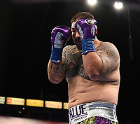 CARSON, CA - MAY 1: Andy Ruiz Jr. in his fight against Chris Arreola on the Fox Sports PBC Pay-Per-View fight on May 1, 2021 at Dignity Health Sports Park in Carson, CA. (Photo by Frank Micelotta/Fox Sports/PictureGroup)
