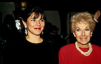 FILE PHOTO -  Mireille Deyglun and her mother Janine Sutto (R).