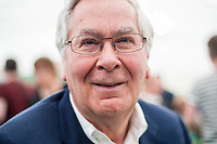 Hay on Wye, UK. Sunday 29 May 2016<br /> Pictured:  Mervyn King<br /> Re: The 2016 Hay festival take place at Hay on Wye, Powys, Wales