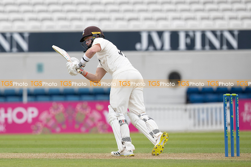 Ollie Pope of Surrey clips to leg during Surrey CCC vs Hampshire CCC, LV Insurance County Championship Group 2 Cricket at the Kia Oval on 30th April 2021
