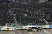 #16: Brett Moffitt, Hattori Racing Enterprises, Toyota Tundra KOBE takes the checkered flag and the win