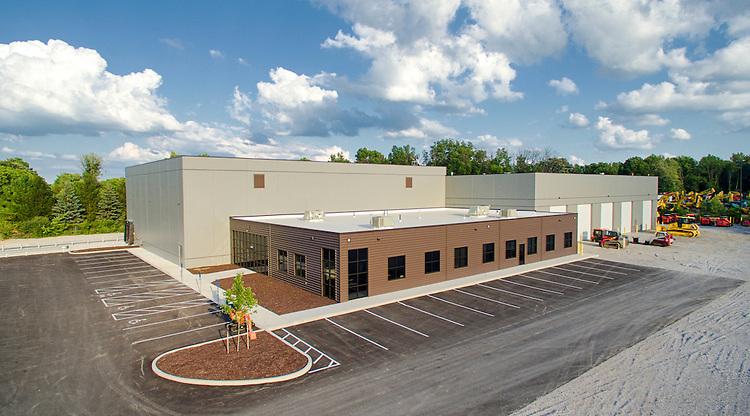 Columbus Equipment Company Aerial Photography | Corna-Kokosing