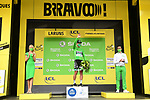 Peter Sagan (SVK) Bora-Hansgrohe retains the Green Jersey at the end of Stage 9 of Tour de France 2020, running 153km from Pau to Laruns, France. 6th September 2020. <br /> Picture: ASO/Alex Broadway   Cyclefile<br /> All photos usage must carry mandatory copyright credit (© Cyclefile   ASO/Alex Broadway)