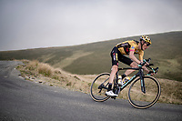 Robert Gesink (NED/Jumbo - Visma) coming down the Port de Balès (HC climb)<br /> <br /> Stage 8 from Cazères to Loudenvielle (141km)<br /> <br /> 107th Tour de France 2020 (2.UWT)<br /> (the 'postponed edition' held in september)<br /> <br /> ©kramon