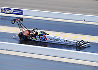 Sept. 18, 2010; Concord, NC, USA; NHRA top fuel dragster driver Cory McClenathan during qualifying for the O'Reilly Auto Parts NHRA Nationals at zMax Dragway. Mandatory Credit: Mark J. Rebilas /