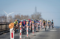 roadworks<br /> <br /> 53rd Le Samyn 2021<br /> ME (1.1)<br /> 1 day race from Quaregnon to Dour (BEL/205km)<br /> <br /> ©kramon