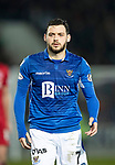 St Johnstone v Aberdeen…..24.11.19   McDiarmid Park   SPFL<br />Drey Wright<br />Picture by Graeme Hart.<br />Copyright Perthshire Picture Agency<br />Tel: 01738 623350  Mobile: 07990 594431