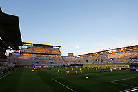 29th April 2021; Ceramica Stadium, Villareal, Spain; EUropa League semi-final football, Villareal CF versus Arsenal;  General view of the La Cermica stadium before the game