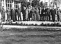 Iraq 1965 <br /> In Baghdad, meeting of Iraqi and Kurdish personalities to discuss a project of decentralization concerning Kurdistan <br /> Irak 1965 <br /> A Baghdad, rencontre d'officiels irakien et kurdes pour discuter d'un projet de decentralisation pour le Kurdistan