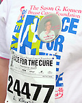 The 2006 Komen Denver Race for the Cure began at 7:15 a.m. Sunday morning at the Pepsi Center and ended at the Auraria Campus. Despite an overcast sky and cool temperatures participants turned out in record numbers to participate in the largest Race for the Cure event in the nation. Approximately 65,000 entrants helped raise nearly one million dollars to fund the fight against breast cancer.<br />