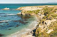 Coastline near Shag Point village, Coastal Otago, East Coast, South Island, New Zealand