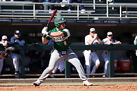CARY, NC - FEBRUARY 23: Tyler Sanfilippo #8 of Wagner College waits for a pitch during a game between Wagner and Penn State at Coleman Field at USA Baseball National Training Complex on February 23, 2020 in Cary, North Carolina.