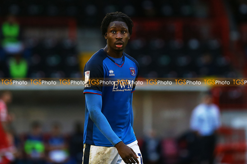 Joshua Kayode of Carlisle United during Crawley Town vs Carlisle United, Sky Bet EFL League 2 Football at Broadfield Stadium on 21st November 2020