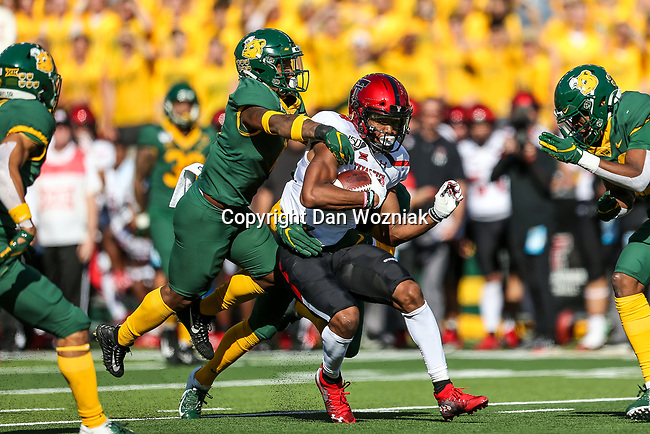 Texas Tech Red Raiders wide receiver Erik Ezukanma (84) in action during the game between the Texas Tech Red Raiders and the Baylor Bears at the McLane Stadium in Waco, Texas.