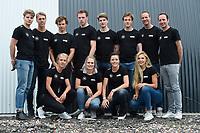 SCHAATSSPORT: GRONINGEN: 11-06-2018, Team IKO, v.l.n.r. (voor) Letitia de Jong, Bo van der Werff, Jorien ter Mors, Jutta Leerdam,<br /> (achter) Joep Baks, Niek Deelstra, Joost Born, Lennart Velema, Daan Baks, Martijn van Oosten, coaches Erwin en Martin ten Hove, ©foto Martin de Jong
