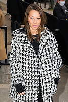 Laura Smet arrives at the Chanel Fashion Show during Paris Fashion Week : Haute Couture F/W 2017-2018 on January 24, 2017 in Paris, France.