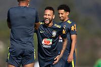 7th October 2020; Granja Comary, Teresopolis, Rio de Janeiro, Brazil; Qatar 2022 qualifiers; Neymar of Brazil during training session
