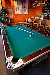 Pool table at Hop Works, Portland, Oregon