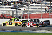 2017 NASCAR Camping World Truck Series - Active Pest Control 200<br /> Atlanta Motor Speedway, Hampton, GA USA<br /> Saturday 4 March 2017<br /> Matt Crafton and Kyle Busch<br /> World Copyright: Nigel Kinrade/LAT Images<br /> ref: Digital Image 17ATL1nk06390
