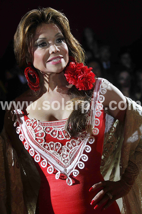 **ALL ROUND PICTURES FROM SOLARPIX.COM**                                             **WORLDWIDE SYNDICATION RIGHTS EXCEPT SPAIN & SOUTH AMERICA - NO SYNDICATION IN SPAIN OR SOUTH AMERICA**                                                                                  Caption: Michael Jacksons sister La Toya jackson in Seville, at the international horse fair enjoying the city, famous for flamenco and Andalucian horses. Seville, Spain. 27 November 2010                                                                      This pic: La Toya Jackson                                                                                             JOB REF: 12535 MPA       DATE: 27_11_2010                                                           **MUST CREDIT SOLARPIX.COM OR DOUBLE FEE WILL BE CHARGED**                                                                      **MUST AGREE FEE BEFORE ONLINE USAGE**                               **CALL US ON: +34 952 811 768 or LOW RATE FROM UK 0844 617 7637**