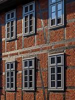 Fachwerkhaus Altendorfer Str., Einbeck, Niedersachsen, Deutschland, Europa<br /> Half timbered house Altendorfer St., Einbeck, Lower Saxony, Germany, Europe