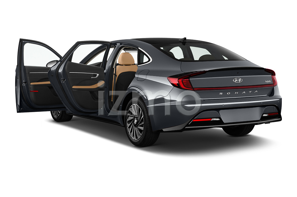 Car images of 2020 Hyundai Sonata-Hybrid Limited 4 Door Sedan Doors