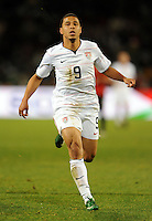 Charlie Davies of USA. USA defeated Spain 2-0 during the semi-finals of the FIFA Confederations Cup at Free State Stadium in Manguang/Bloemfontein, South Africa on June 24, 2009..