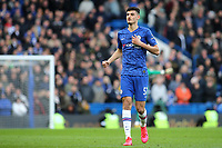 Armando Broja of Chelsea during Chelsea vs Everton, Premier League Football at Stamford Bridge on 8th March 2020