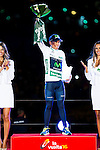 Nairo Quintana, winner of La Vuelta a España 2016 in Madrid. September 11, Spain. 2016. (ALTERPHOTOS/BorjaB.Hojas)