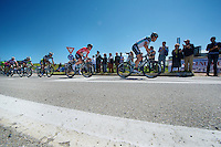 2013 Giro d'Italia.stage 13: Busseto - Cherasco..Mark Cavendish (GBR) escorted to the finish by his teammates