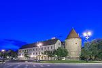 Croatia, Zagreb, Zagreb Cathedral Fortification at Dawn