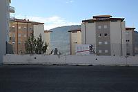 2019. l'Aquila dieci anni dopo il terremoto del 2009 Centro storico Zona ove sorgeva la Casa dello studente