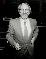 1987 FILE PHOTO - ARCHIVES -<br /> <br /> Norman Jewison: Canadian director's Moonstruck got six Oscar nominations.<br /> <br /> 1987<br /> <br /> PHOTO :  Erin Comb - Toronto Star Archives - AQP