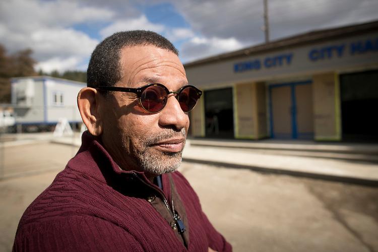 King City Mayor Ken Gibson.<br /> Photo by Jaime Valdez