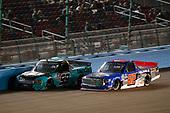 #99: Ben Rhodes, ThorSport Racing, Ford F-150 Tenda Heal, #52: Stewart Friesen, Halmar Friesen Racing, Toyota Tundra Halmar Racing To Beat Hunger