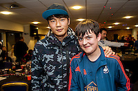 Tuesday  15 December 2015<br /> Pictured: Ki SUng Yueng<br /> Re: Kids SCFC Christmas Party at the Liberty Stadium, Swansea