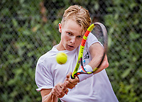 Hilversum, Netherlands, August 8, 2018, National Junior Championships, NJK, Jesper de Jong (NED)<br /> Photo: Tennisimages/Henk Koster