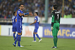 Esteghlal vs Buriram United during the 2013 AFC Champions League Quarter-finals Leg 1 match on August 21, 2013 at the Azadi Stadium in Tehran, Iran. Photo by World Sport Group