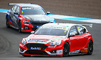 29th August 2020; Knockhill Racing Circuit, Fife, Scotland; Kwik Fit British Touring Car Championship, Knockhill, Qualifying Day; Rory Butcher in action with Colin Turkington during free practice